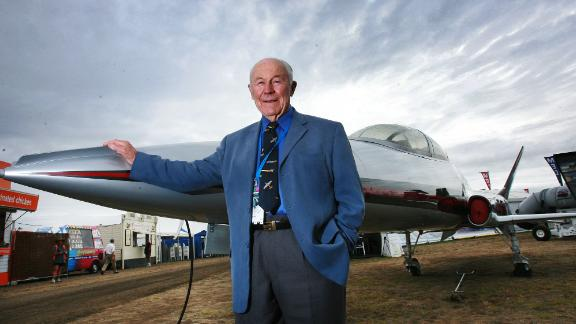 """<a href=""""https://www.cnn.com/2020/12/07/us/chuck-yeager-death/index.html"""" target=""""_blank"""">Chuck Yeager</a>, the test pilot who broke the sound barrier in 1947, died December 7 at the age of 97."""