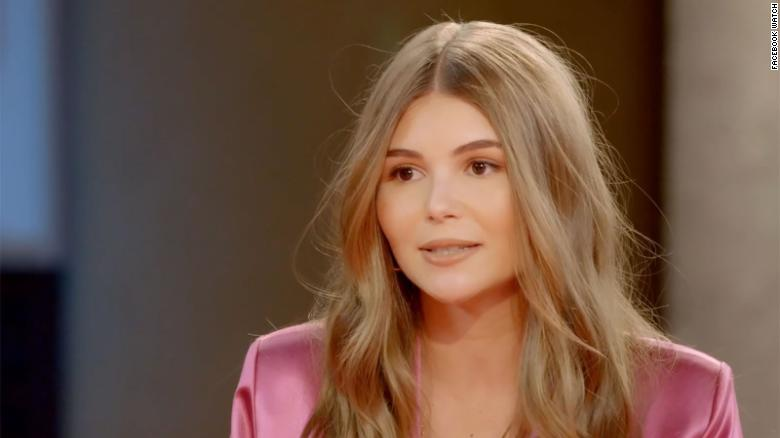 Olivia Jade speaks out for the first time about her family's 'big mistake'