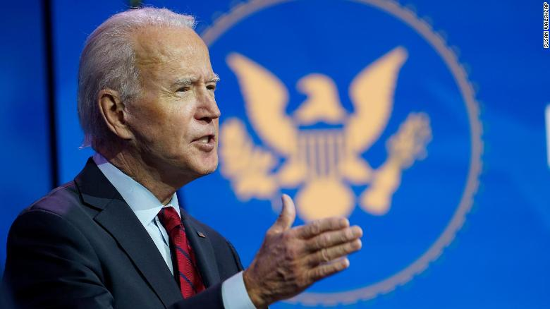 Biden's extremely ambitious first 100 days
