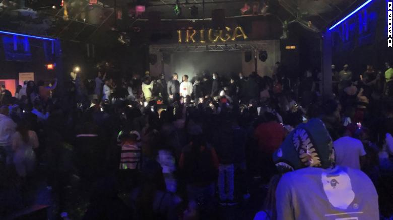 500 people showed up for a concert at an Ohio nightclub that defied local COVID-19 restrictions, authorities say