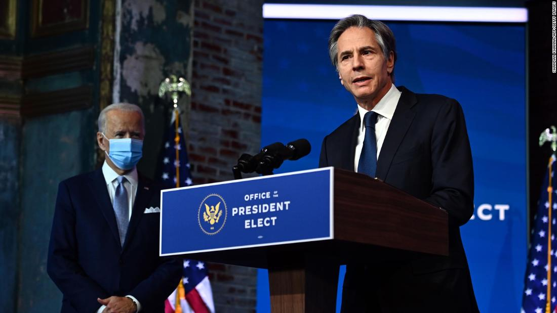 Blinken becomes Biden's top diplomat after a friendship forged over decades