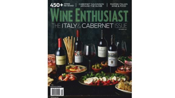 Wine Enthusiast 1-Year Print Magazine Subscription