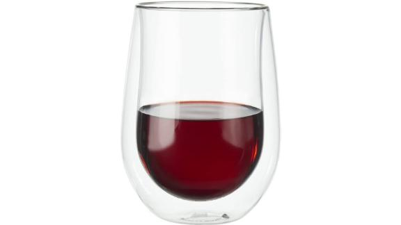 Zwilling J.A. Henckels Double-Wall Red Wine Glass, Set of 2