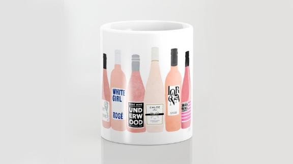 Rosé Wine Bottles Coffee Mug