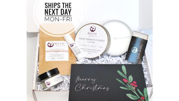 Roam Homegrown Christmas Spa Gift Basket