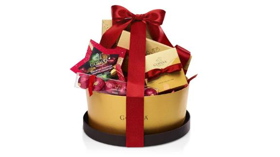 Godiva Make It Merry Christmas Gift Basket