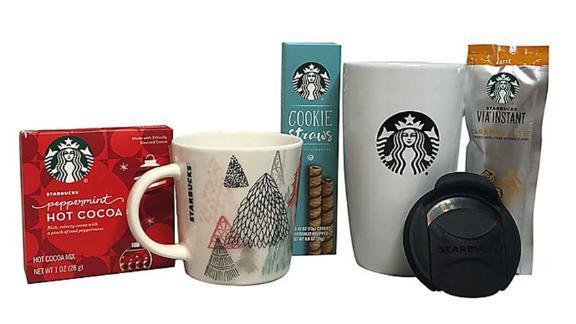 Starbucks Home & Away Via & Cocoa Gift Set