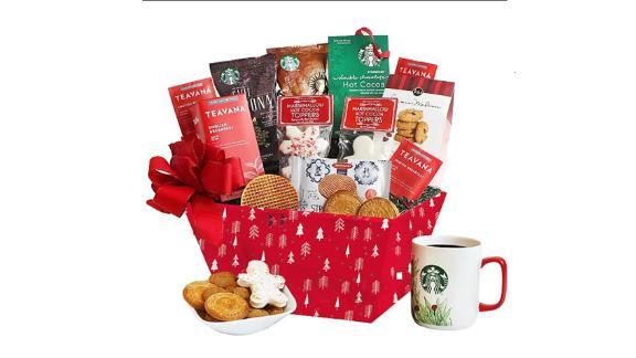 Starbucks Holiday Morning Gift Basket