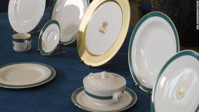 There will be no Trump china collection due to cost and time, source says