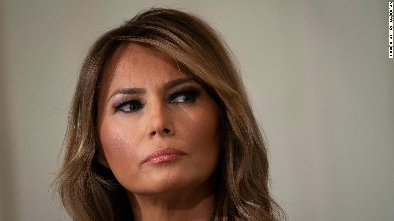Melania Trump departing White House with lowest favorability of her tenure