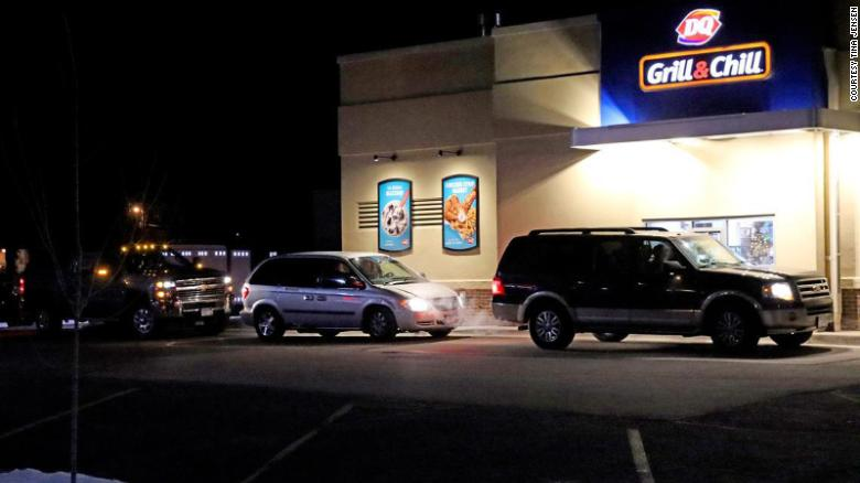 Over 900 cars paid for each other's meals at a Dairy Queen drive-through in Minnesota