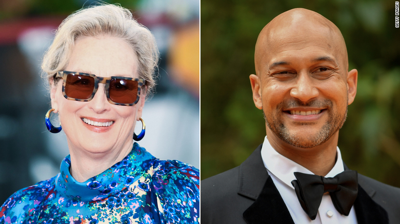 Meryl Streep gushes over her 'Prom' costar Keegan-Michael Key