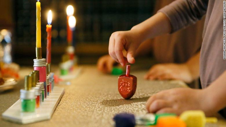 Hanukkah celebrations shine a light in a dark pandemic world