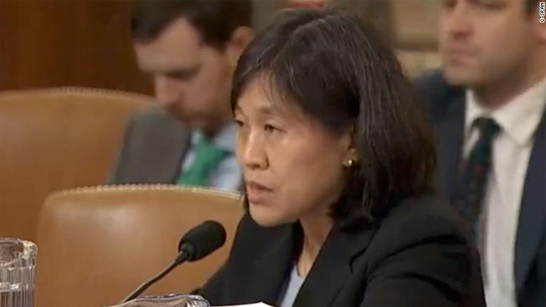 Biden expected to nominate Katherine Tai to serve as US Trade Representative
