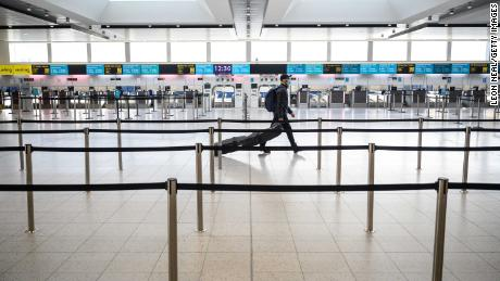 Travelers from the UK may be banned from the European Union after January 1 under the Covid rules