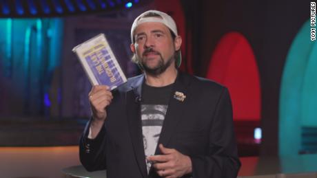 Kevin Smith in the documentary 'The Last Blockbuster.'