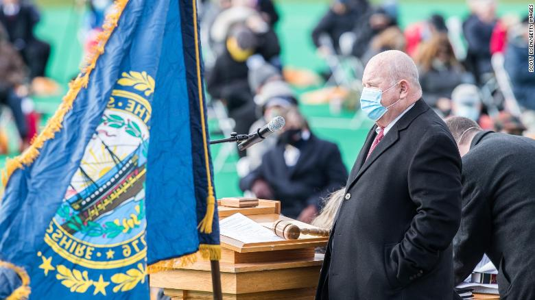 New Hampshire's House speaker dies from Covid-19
