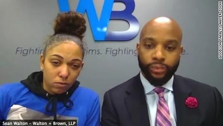 Goodson's mother, Tamala Payne, and family attorney Sean Walton are urging authorities to consider murder charges for last week's shooting.