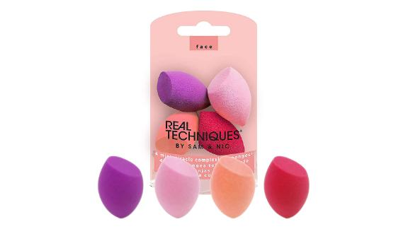Real Techniques Mini Miracle Complexion Sponge, Set of 4