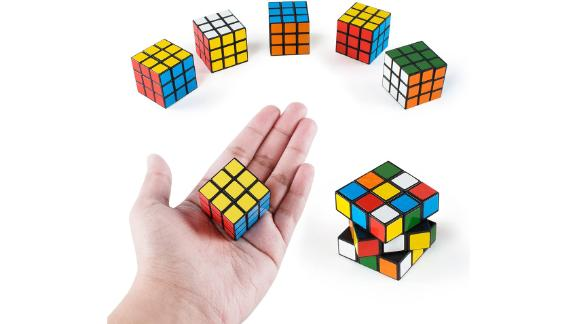 Super Z Outlet Mini Color Cube Puzzle, Pack of 6