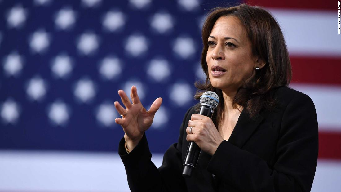 'Beau stood there': Harris recalls how Beau Biden backed her during battle with banks