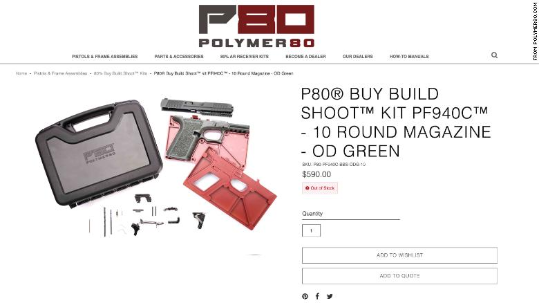 Feds raid 'ghost gun' maker whose products they say are linked to 'hundreds of crimes'