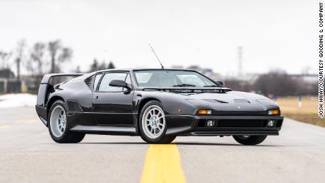 A 1994 De Tomaso Pantera, the brand's  most popular model.