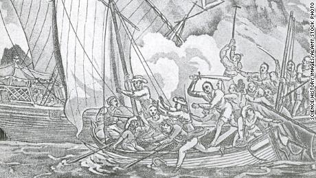 The capture of British sailor John Turner by Zheng Yi 's pirates in 1806.