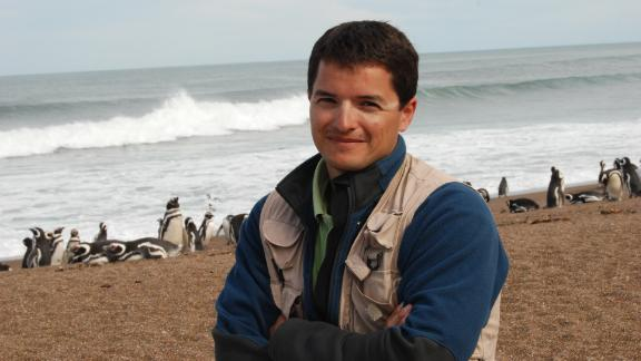 Pablo García Borboroglu, founder of the Global Penguin Society.