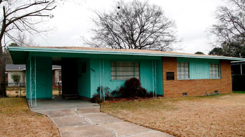 The Mississippi home of civil rights leader Medgar Evers is now a national monument