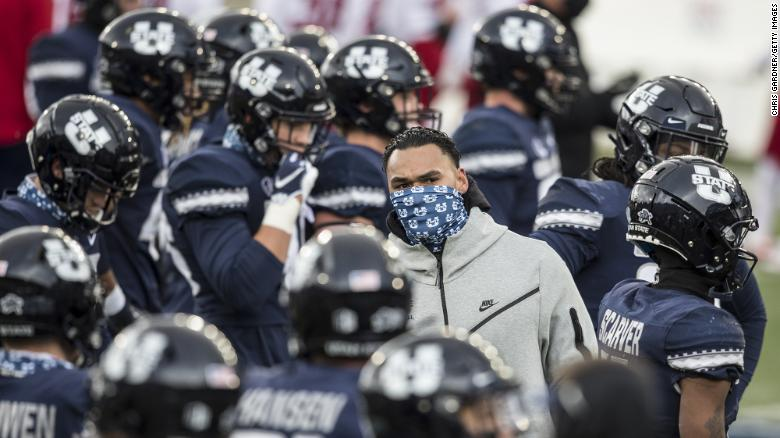 Utah State football game canceled after players reportedly vote not to play because of comments from university president