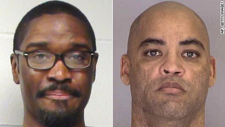 Brandon Bernard left, and Alfred Bourgeois were the ninth and 10th people executed since the Justice Department resumed federal executions in May 2019.