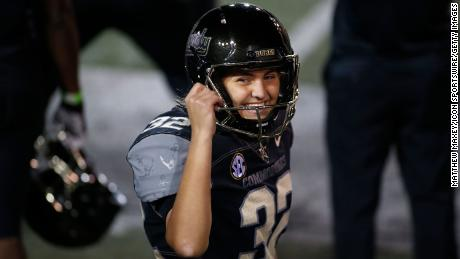 Vanderbilt kicker Sarah Fuller becomes the first woman to score in a Power Five college football game
