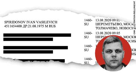 Les dossiers de voyage montrent que, jusqu'en 2018, les agents de l'unité de renseignement russe à la suite du chef de l'opposition Alexey Navalny utilisaient fréquemment leur propre nom lorsqu'ils suivaient leur cible. Certains, comme Ivan Osipov, ont adopté de fausses identités ou ont voyagé sous leurs épouses '' noms de jeune fille.