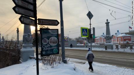 La ville de Tomsk était la dernière étape programmée de Navalny lors de son voyage en août en Sibérie.