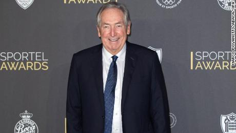 Houllier attends the Sportel Awards Gala held at the Grimaldi Forum on October 27, 2020 in Monaco.