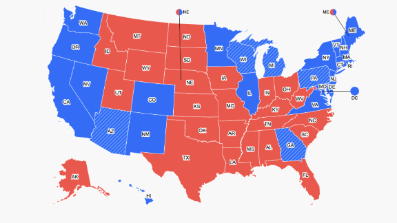 Image for Electoral College affirms Biden win, shaking loose fresh Republican recognition