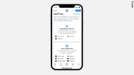 Apple's new privacy labels for apps help make it more clear where user data is going.