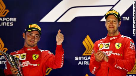 Ferrari were much faster in 2019, taking multiple victories including at Singapore where the team recorded a 1-2 finish -- the victory was the last of Vettel's at Ferrari, and is the team's most recent win in F1.
