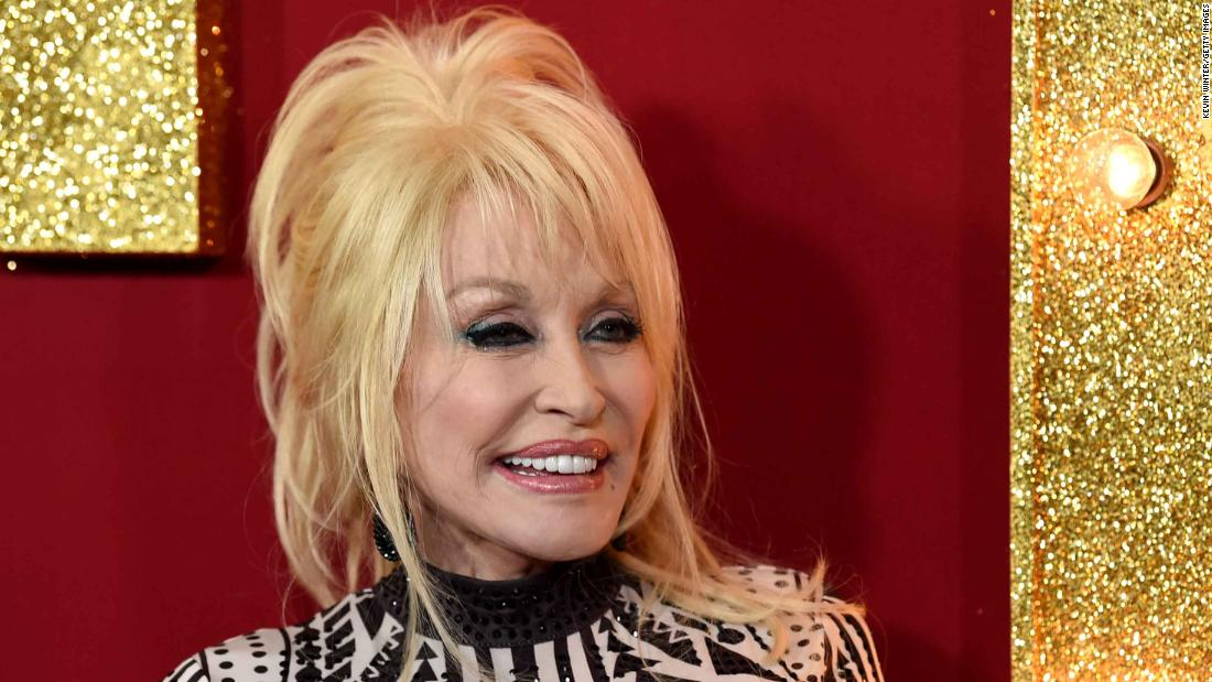 Dolly Parton adapts famous song to encourage people to take vaccine