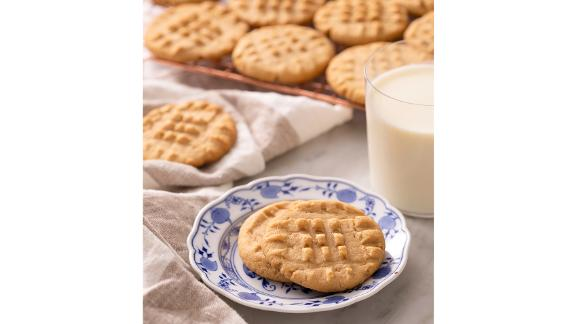 Preppy Kitchen's Peanut Butter Christmas Cookies