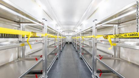 "Acela Truck Co.'s refrigerated units range from 9 to 53 feet and have racks that each hold four body trays. ""We're very busy and have orders in all of the lower 48 states,"" CEO David Ronsen said."