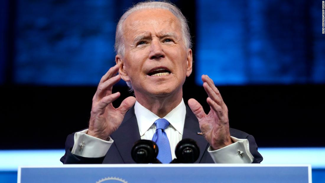 Joe Biden: A new vaccine and a soon-to-be President begin turning the page