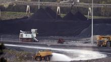 Bulga Coal Mine, Hunter Valley au nord de Sydney, le 18 novembre 2015.