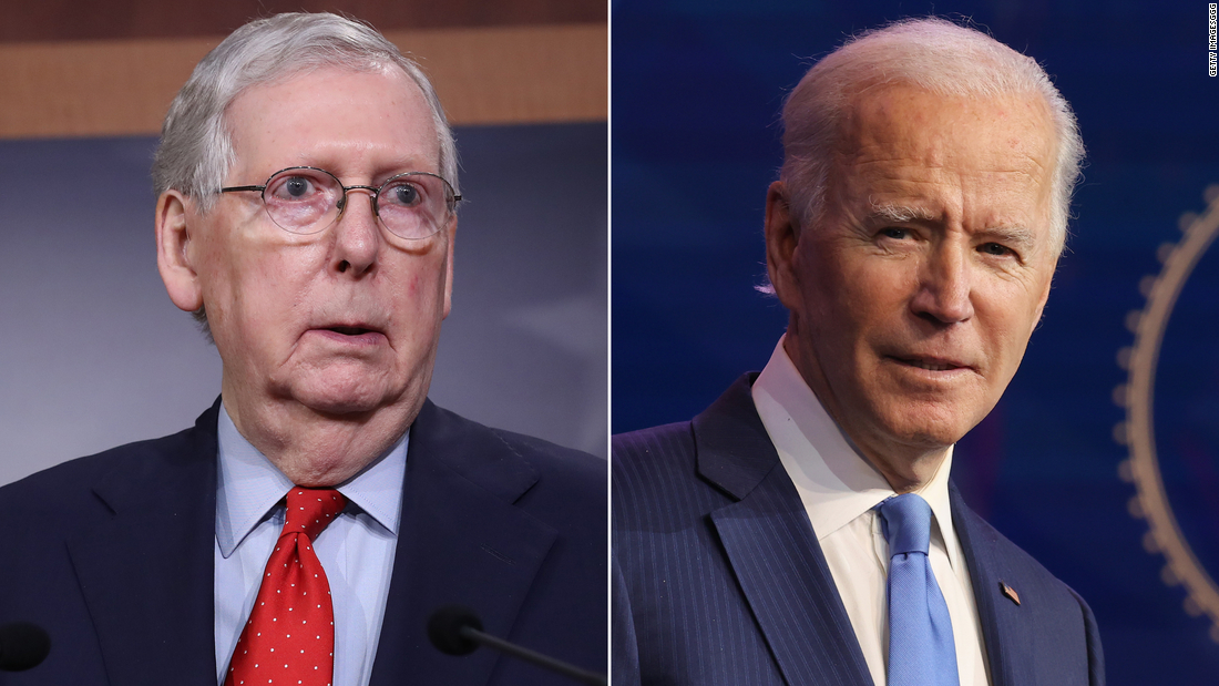 Opinion: On jobs, McConnell just doesn't get it. Biden does.