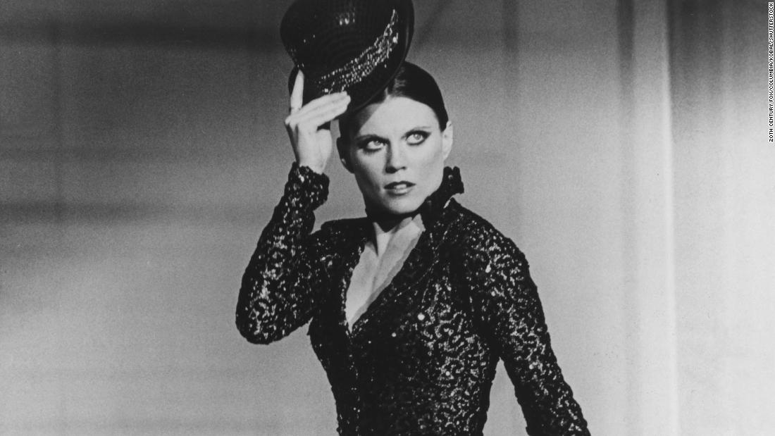 "Ann Reinking appears in the 1979 film ""All That Jazz."" The Bob Fosse biopic won several Academy Awards and was nominated for best picture."