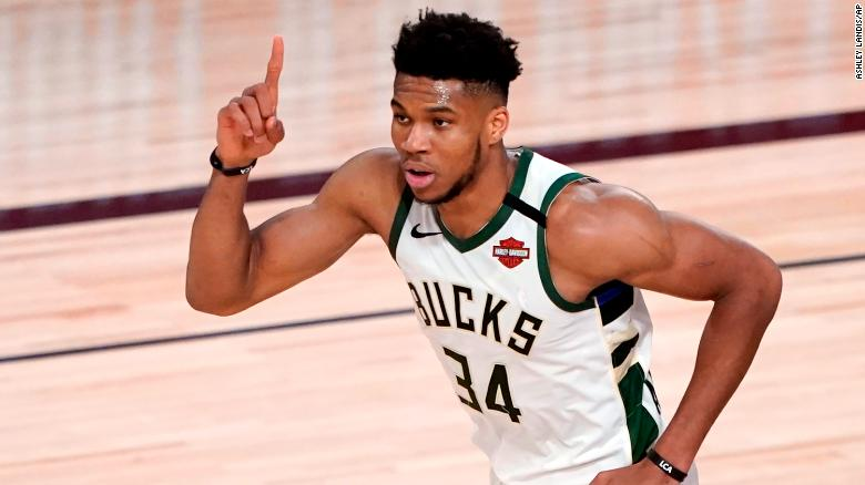 Giannis Antetokounmpo signs largest deal in NBA history with Milwaukee Bucks