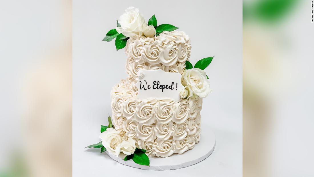 Honey The Pandemic Shrunk Our Wedding Cake Cnn