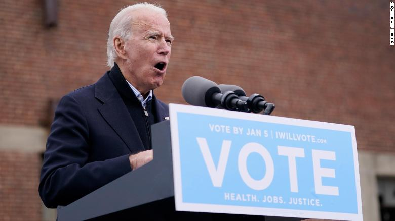 Biden blasts Georgia's GOP senators, saying they 'stood by' as Trump tried to undo state's election results