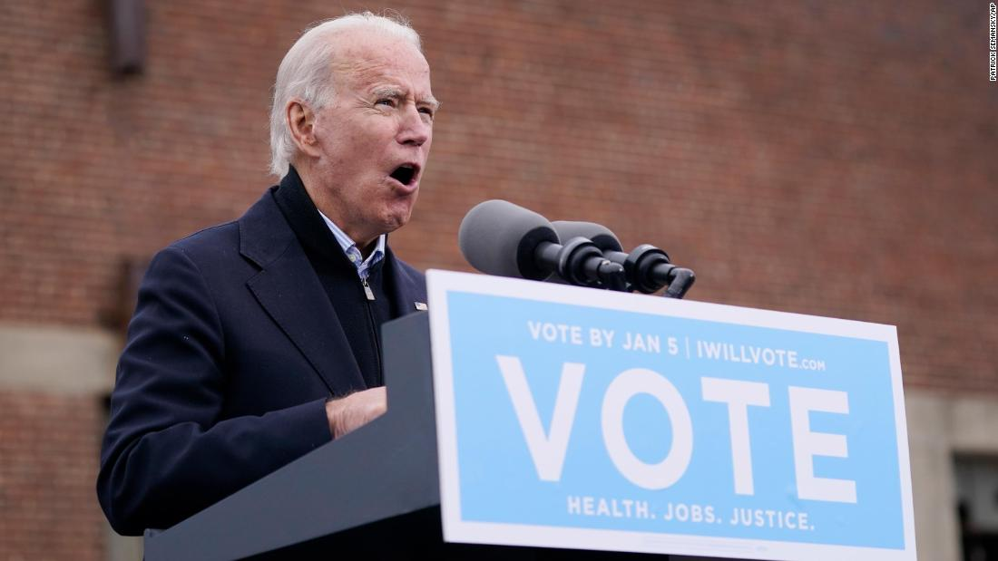 Biden blasts Georgia's GOP senators saying they 'stood by' as Trump tried to undo state's election results – CNN